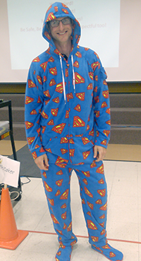 Mr Crain Superman PJ